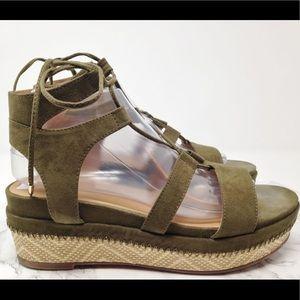 Franco Sarto Hatty suede sandals